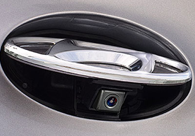 Hidden Rearview Camera